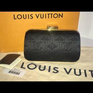 Authentic Louis Vuitton Minodiere pill clutch bag